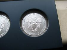2011 5 Piece Set: US Mint American Eagle 25th Anniversary Silver Coin Set