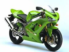 Kawasaki Lime Green ZX9R ZX6R Ninja Touch Up Brush Paint 6000M