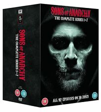 SONS OF ANARCHY SEASONS 1-7 COMPLETE DVD BOX SET SERIES 1 2 3 4 5 6 7
