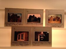 Ironmaster's House 1636-Saugus MA: Set Of 5 1977 35mm Wood Architecture Slides