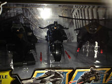 Batman the dark knight rises Squadron  Treadator batcycle and attack copter set