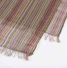 Paul Smith Scarf - BNWT Signature 'Vintage Multi Stripe' Linen-blend/RRP: £129