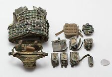 1/6 Dam British Army Afghanistan MTP Osprey Vest Pelvic Protector Set *TOY