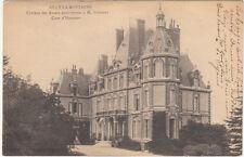 RILLY-LA-MONTAGNE château des rozais cour d'honneur écrite