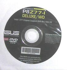 original asus Mainboard Treiber CD DVD P8Z77-I deluxe /WD WIN XP 7 8 Windows NEU