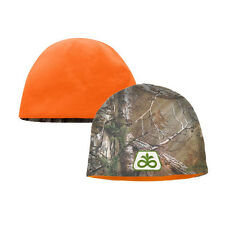 PIONEER SEED *REALTREE XTRA CAMO & Orange BEANIE Stocking Cap M/L *BRAND NEW*