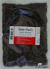 BLACK MUSTARD Seeds (Brassica Nigra) Natural Herb Seasoning - 200g (7.05oz)