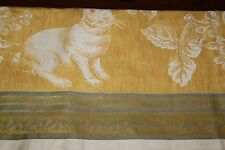 Williams-Sonoma Easter Jacquard Tablecloth Yellow/Light Grey/Off White