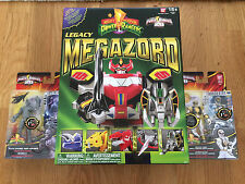 Power rangers Legacy Megazord 20th Anniversary + 2 FREE GIFTS! worth £19.98 rrp