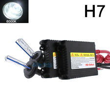 Xenon H7 6000K 6K Diamond White HID Lights Conversion Kit For Ford Fiesta Mk 7