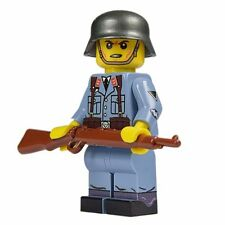 LEGO Custom United Bricks World War 2 Luftwaffe German Flak Minifig Minifigure