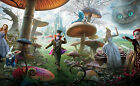Alice in Wonderland Giant Poster - A0 A1 A2 A3 A4 Sizes