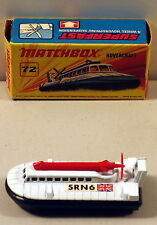 DTE LESNEY MATCHBOX SUPERFAST 72-B SN6 HOVERCRAFT NIOB