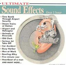FREE US SH (int'l sh=$0-$3) NEW CD : ULTIMATE SOUND EFFECTS