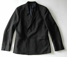 acne studios BLACK double breasted DIXON BLAZER suit jacket it52 XL NEW