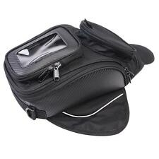 Motorcycle Motorbike Oil Fuel Tank Bag Universal MagneticTravel Black