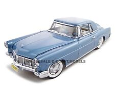 1956 LINCOLN CONTINENTAL MARK 2 BLUE 1:18 DIECAST MODEL BY ROAD SIGNATURE 20078