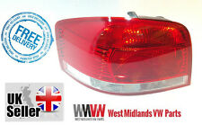 AUDI A3 3 DOOR 2003 2008 PASSANGER SIDE   REAR LIGHT LAMP  8P0945095