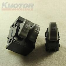 New Power Window Switch Front Left Right 2 Pcs for 1999-2005 Pontiac Montana