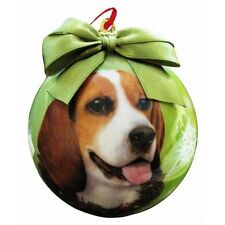Beagle Shatterproof Ball Dog Christmas Ornament