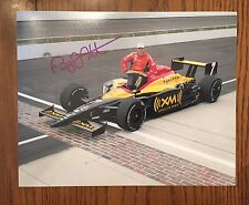 Bryan Herta Signed Indy 500 Car Photo Autographed 8 X 10