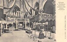 9779) BOLOGNA S. FRANCESCO, ESPOSIZIONE ARTE SACRA 1898, I CONOSTASI.
