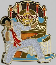 Hard Rock Cafe ONLINE 2013 Elvis Presley Birthday Series PIN #2 of 3 LE 75! King