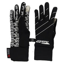 Active Spirit Touch Screen Gloves - Polartec Power Stretch (For Women) Black