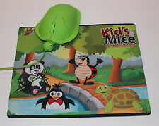 Kids Computer Mouse and Mouse Pad Set!  Fun Computer Mouse & Mousepad, Set of 2