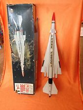 Early Plastic Project Sword Probe Force No 1 Rocket Spaceship Made In Hongkong