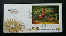Malaysia Bantams 2001 Hen Chicken Cock Bird (Imperf Miniature FDC) Rare *perfect