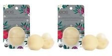 2pk EOS 2016 Limited Edition Holiday Lip Balm Sphere Vanilla Bean