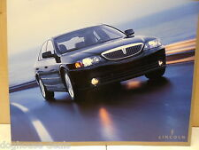 04, 2004 Lincoln LS Unused Lincoln Dealer Brochure