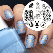 BORN PRETTY BP60 Nail Art Stamping Template Image Plate Easter Bunny Egg Pattern