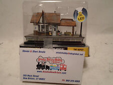 WOODLAND SCENICS LANDMARK STRUCTURES #4942 N SCALE THE DEPOT NEW IN BOX