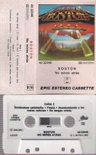 BOSTON No mires atras RARE SPANISH TITTLES cassette very difficult