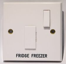 MEM Switch Fuse Spur, Engraved FRIDGE FREEZER