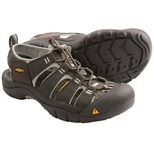 NEW IN BOX Keen Newport H2 Size 17 M Raven Grey Strap Sport Sandals Mens Shoes