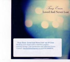 (DZ747) Terry Emm, Loved And Never Lost - 2013 DJ CD