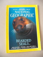 National Geographic magazine March 1997 (Vol.191 No.3) U.S. National Forests