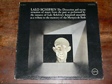 LALO SCHIFRIN The Dissection...Marquis De Sade LP 1966 Verve US JAZZ V6-8654
