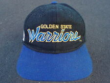 Vintage Golden State Warriors Script Snapback Hat by Sports Specialties Cap