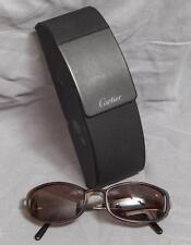 Cartier 130 Paris Green Tortoise France Sunglasses w/ Case & Box egm