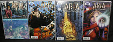 Aria: The Uses of Enchantment #s1-4 4pc LOT - Avalon - (High Grade) - 2003