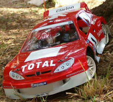 1/8 Peugeot 206 Rally RC Car body shell 1.5mm GT Serpent Traxxas Slash 0101/1.5