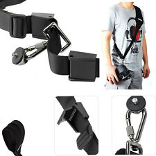 Black Camera Quick Rapid Shoulder Neck Strap Belt For Sony Olympus Canon Nikon