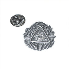 All Seeing Eye of God LAPEL PIN Providence Symbol Hat Cap Badge Birthday Present