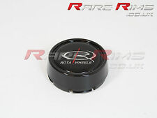 Rota alloys Centre Cap Gloss Black Medium Top (caps)