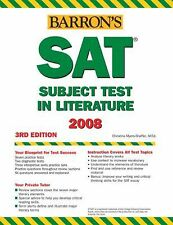 Barron's How to Prepare for the SAT Subject Test in Literature, 3rd Ed-ExLibrary
