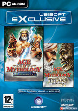 Age of Mythology Gold Edition For PC (New & Sealed)